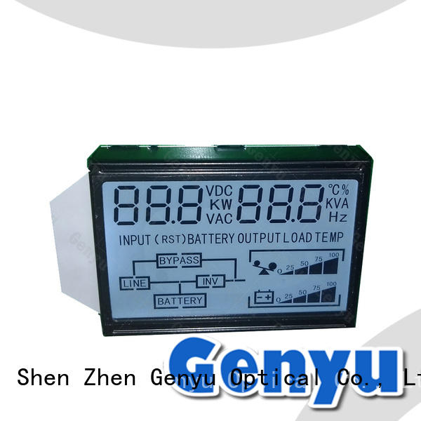 Genyu international market digital segment lcd display gy50378a for instrumentation