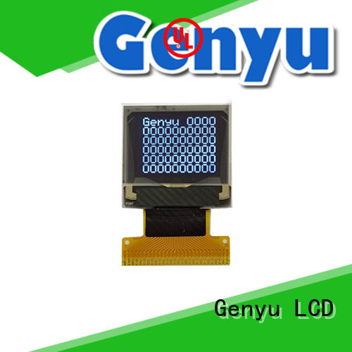 Genyu shenzhen oled screen manufacturers for medical equipment