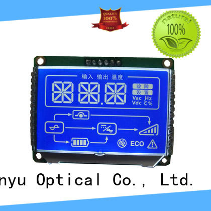 Genyu gy8812880 custom lcd screen factory for meter