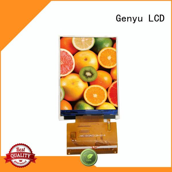 Genyu new display tft manufacturers