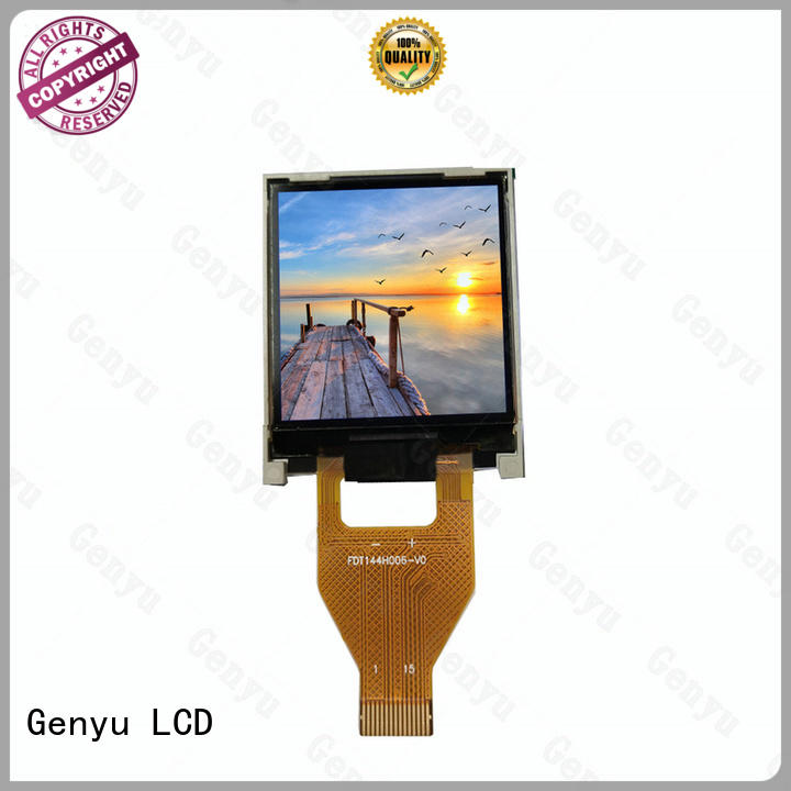 Genyu quality-reliable tft lcd display company for equipments