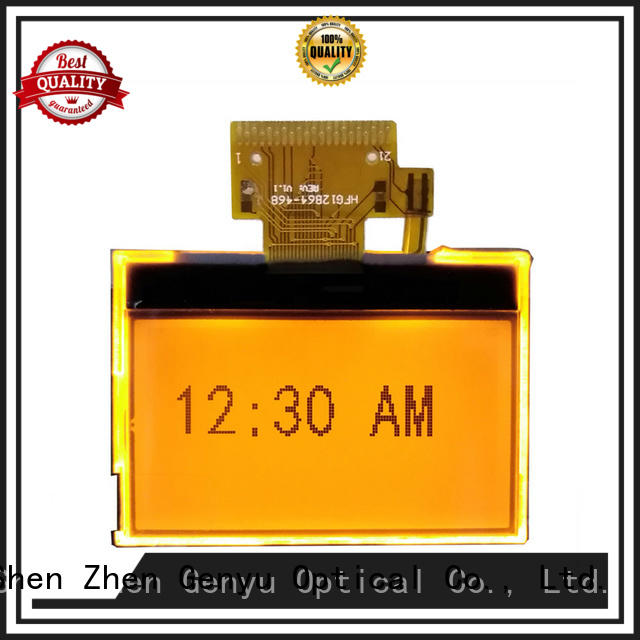 Genyu monochrome graphic lcd display supply for equipment