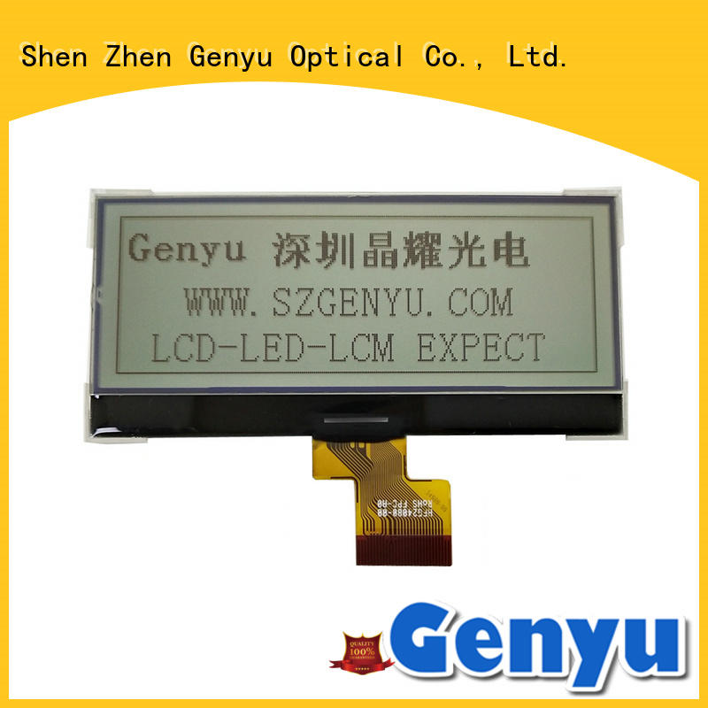 Genyu Best dot matrix lcd supply for equipment