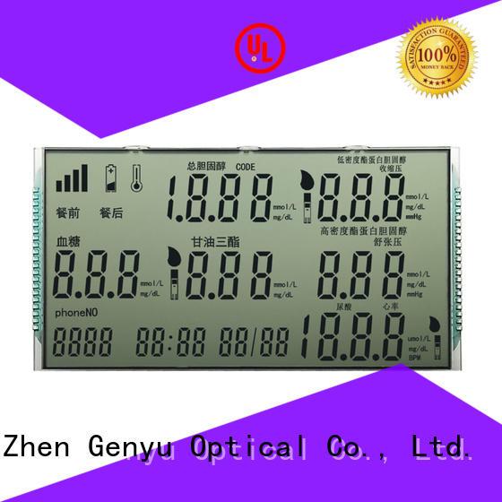 Genyu gy8812854 custom size lcd supply for meter