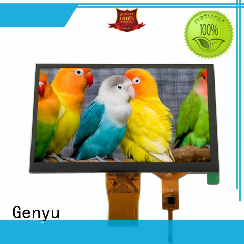 Genyu quality-reliable tft lcd displays for business for automobile