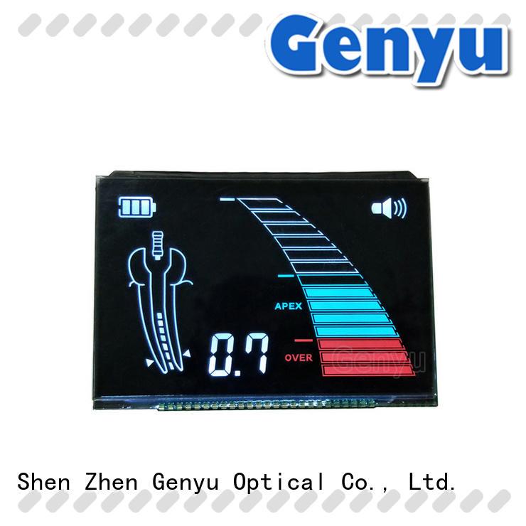 Genyu new design custom lcd screen renovation solutions for instrumentation