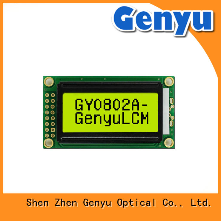 Genyu CE approved large character lcd display display for aerial molds