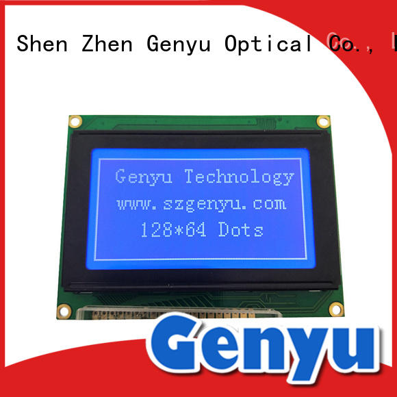 Genyu 320240 lcm panel awarded supplier for instruments panels