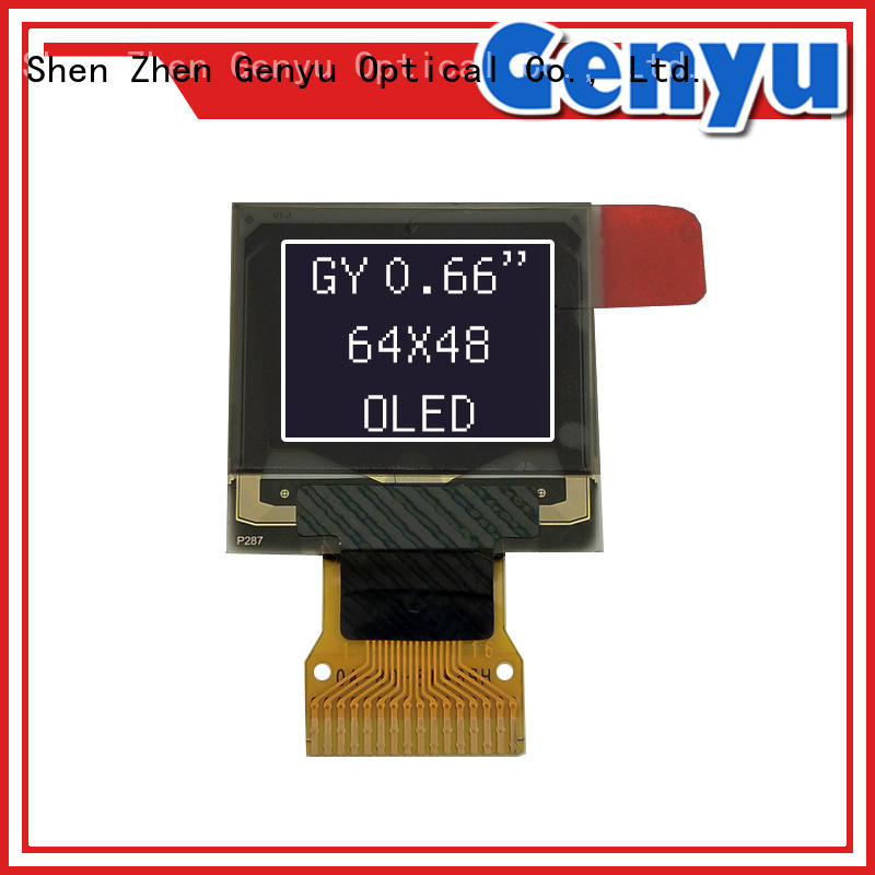Genyu screens small oled panel solution expert for sports watch