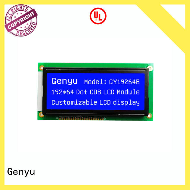Genyu High-quality lcm lcd suppliers for smart home
