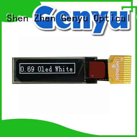 Custom small oled module screen for smart home