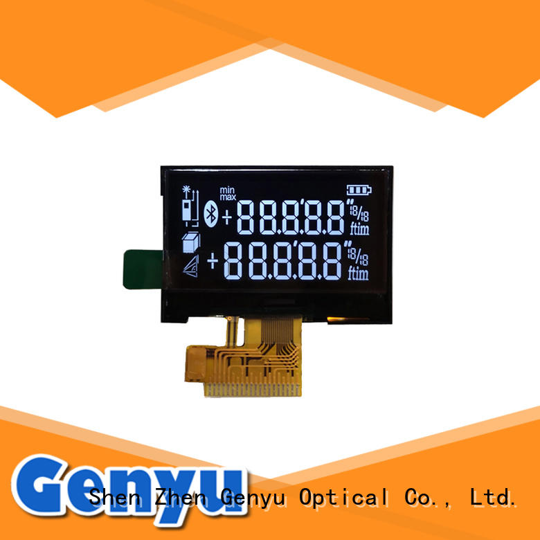 Customized VA (Black) LCD Screen 7 Segment LCD Display For Laser