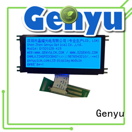 Genyu dot lcm display manufacturers for electronic products