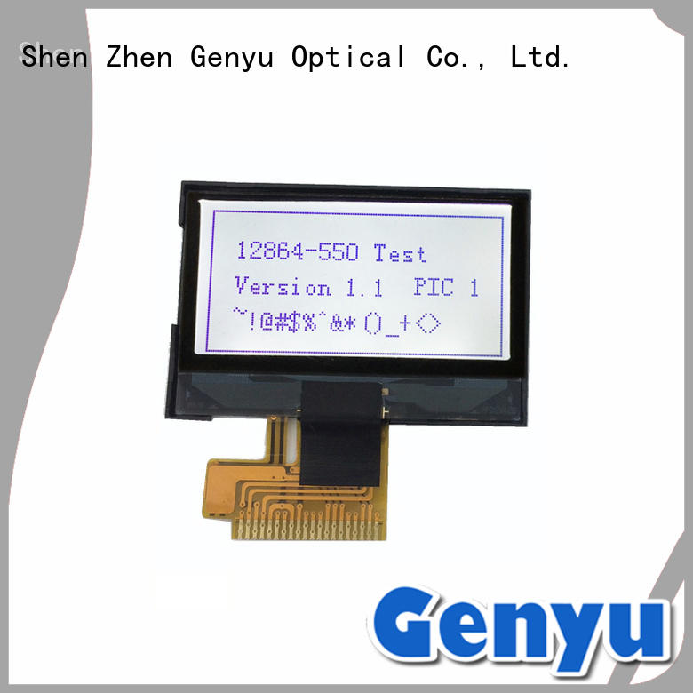 128x64 cog graphic lcd module small for equipment Genyu
