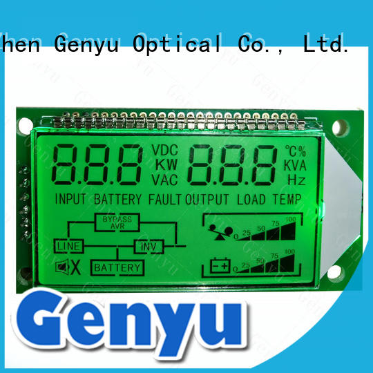 monochrome lcd gy06254nm for meter Genyu
