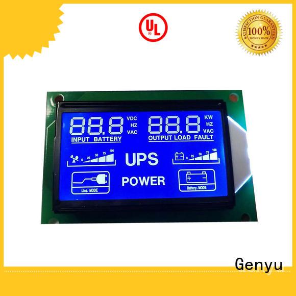 Genyu gy5773v custom lcd screen for meter