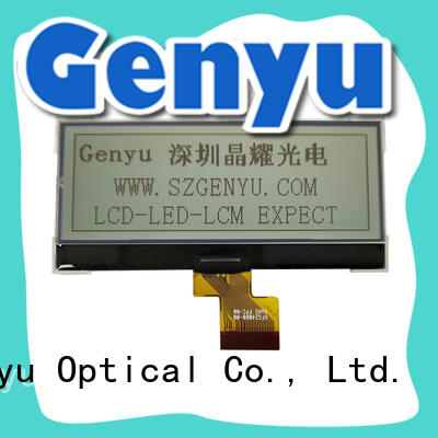 Genyu top quality 12864 lcd display manufacturer for equipment