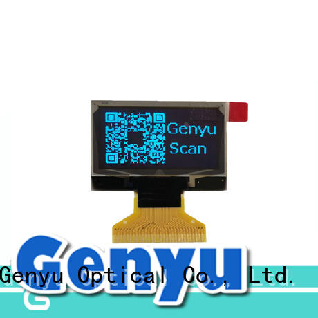 Genyu color oled screen module supplier for instruments
