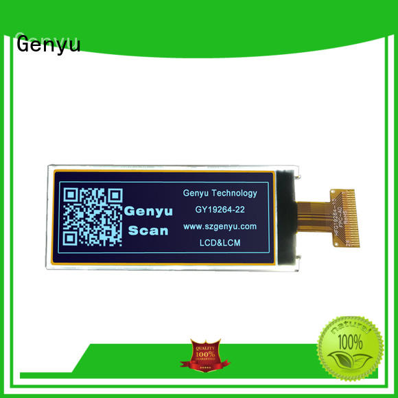 Genyu white graphics lcd modules factory for smart home