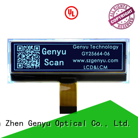 Genyu Best dot matrix lcd display module manufacturers for equipment
