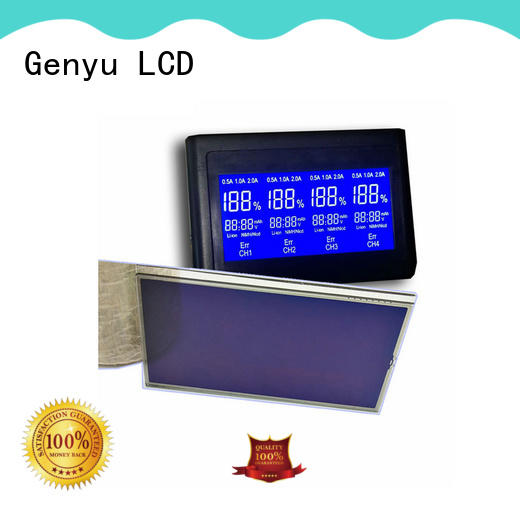 Genyu size lcd custom company for laser