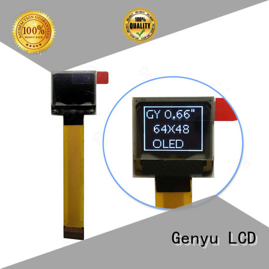 Genyu ole oled display modules supply for medical equipment