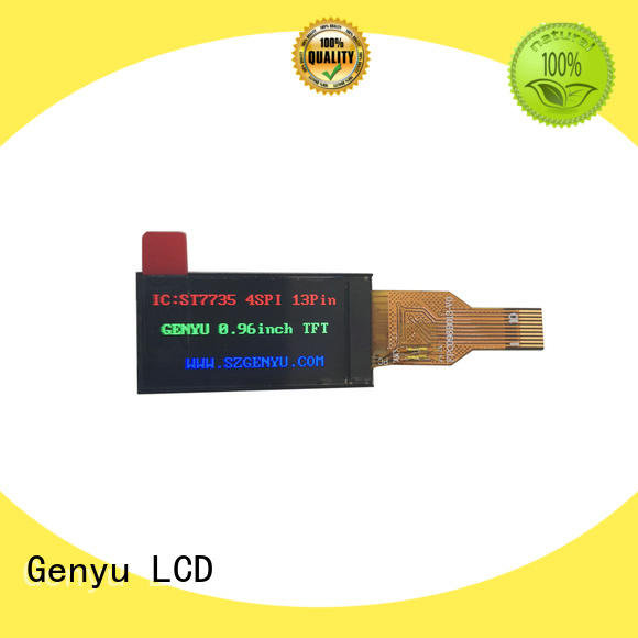 Genyu New tft lcd display modules company for automobile