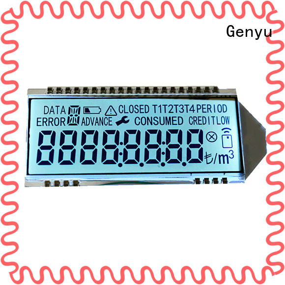 Genyu New lcd display custom for business for video