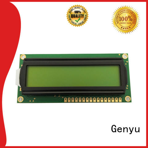 Genyu gy1602ar lcd character display modules company for equipment
