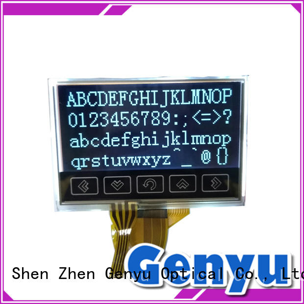 small lcd screen display 128128 for smart home Genyu
