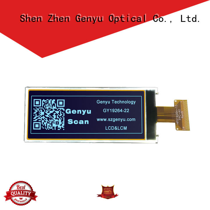 Genyu customized graphic lcd display for business for industry