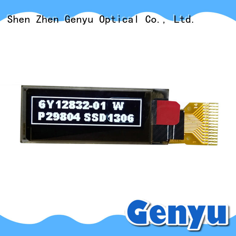 Genyu China graphic oled module low for smart watch