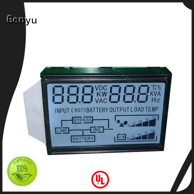 Genyu gy6265 lcd custom factory for instrumentation