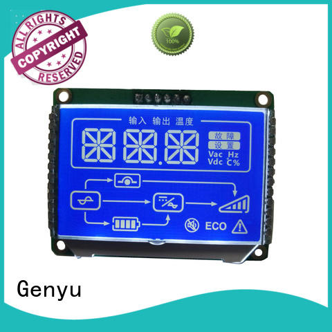 Genyu Top custom lcd screen for business for instrumentation