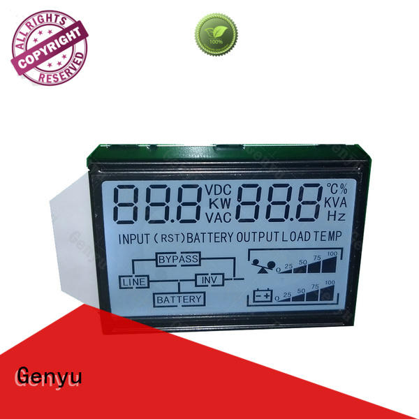 Genyu gy04912nm lcd display custom manufacturers for video