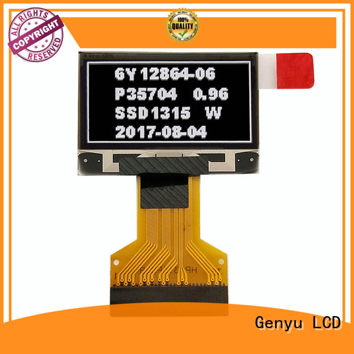 Genyu i2c oled lcd panel company for hardware wallet