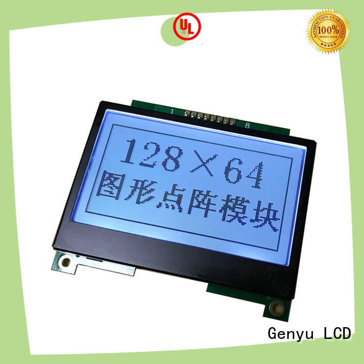 Genyu 320x128 lcm lcd display for business for medical equipment