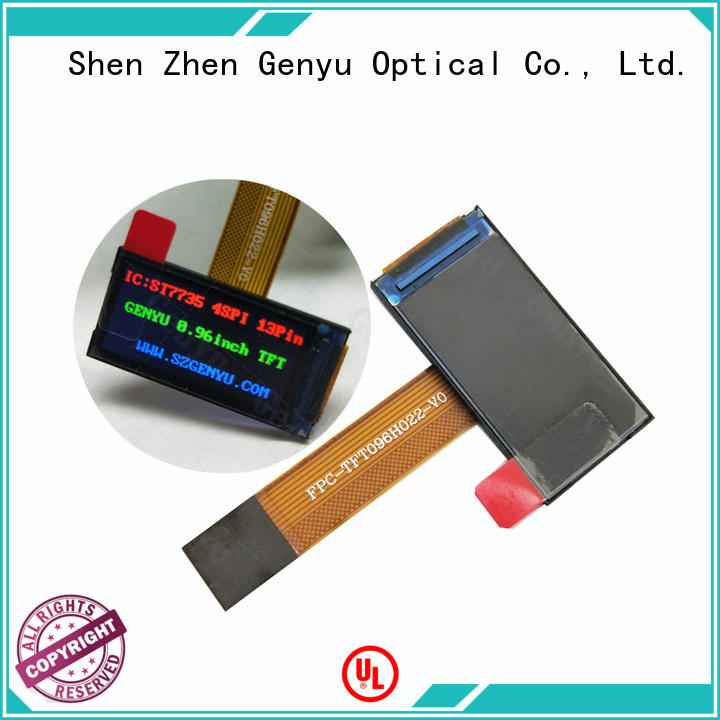 Genyu Best tft lcd factory for automobile