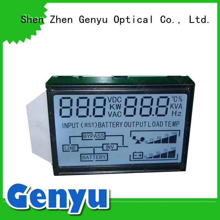 Genyu gy160257 custom monochrome lcd renovation solutions for video