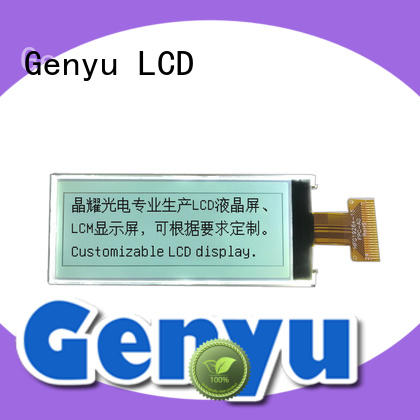 Genyu 122x32 lcd screen display for business for equipment