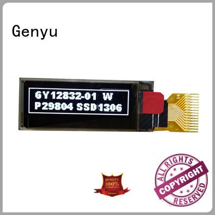Genyu New oled screen module factory for smart home