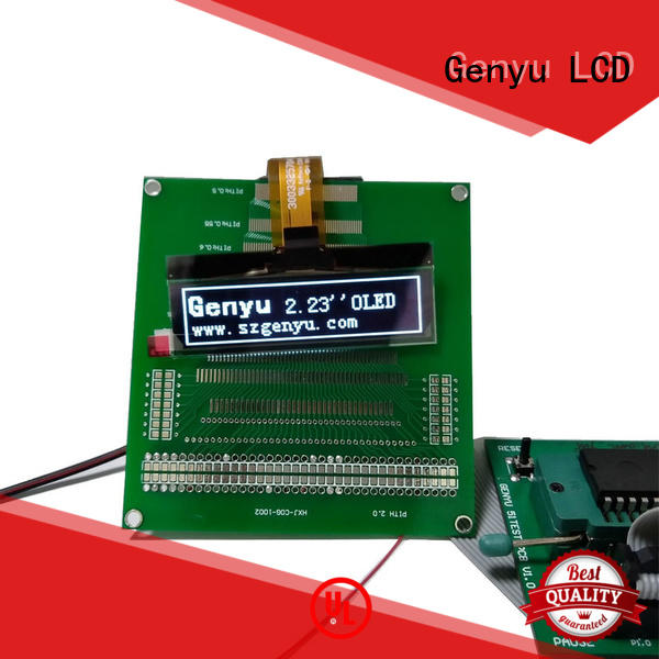 Genyu gy1286404 lcd oled display suppliers for smart watch