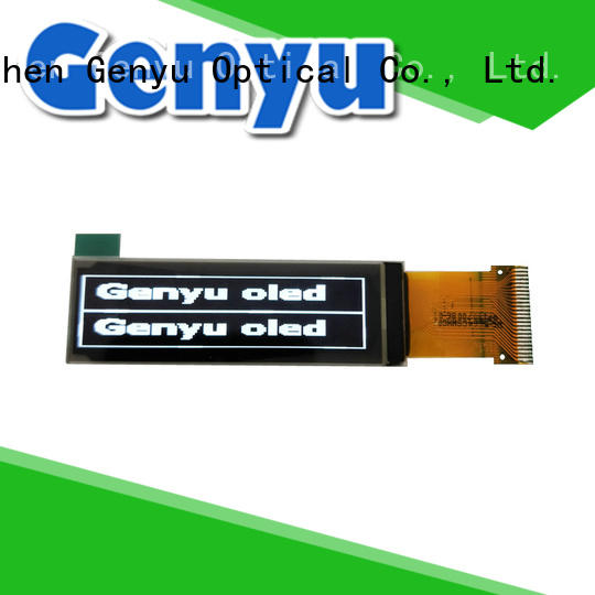 Genyu graphic oled lcd module screen for sports watch