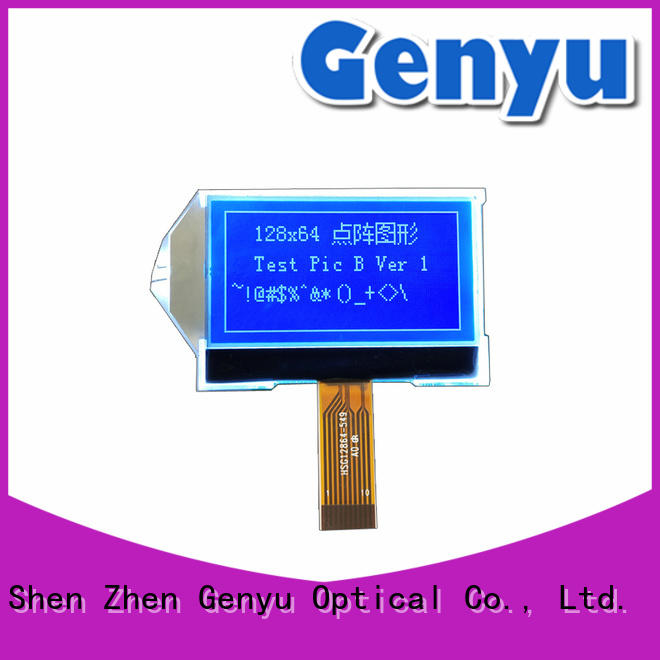 large production of dot matrix lcd yellow factory for industry