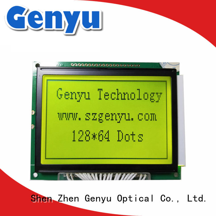 Genyu customized lcd module manufacturer bulk purchase for instruments panels