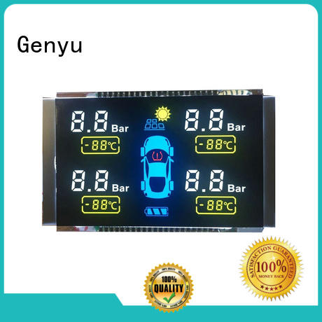 Genyu display custom size screen factory for home appliances