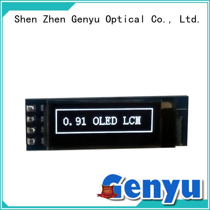 Genyu Custom oled screen module suppliers for sports watch