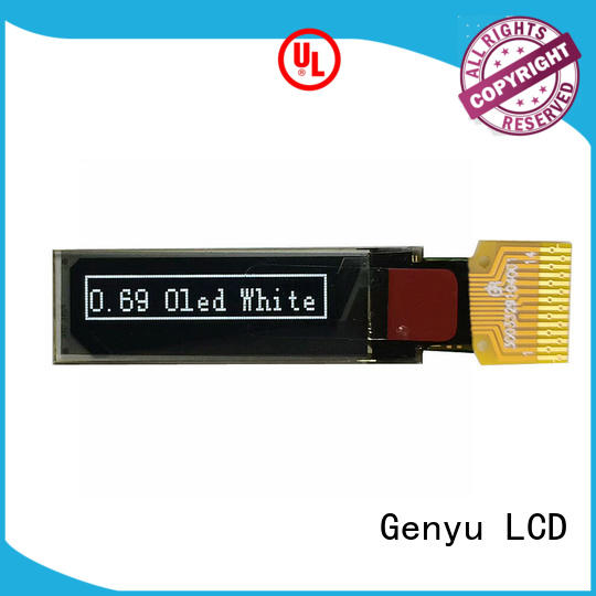 Genyu low oled display modules company for sports watch