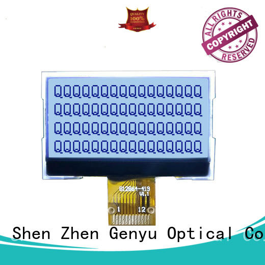 Custom lcd screen display green for business for equipment