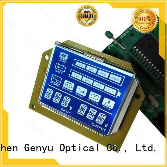 Custom segment lcd module lcm supply for instrumentation